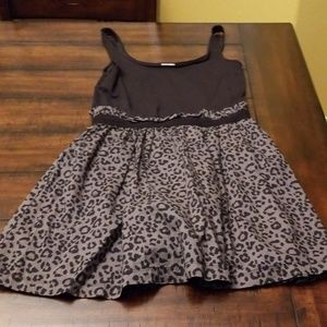 PINK Victoria's Secret Dresses - PINK BLACK CHEETAH PRINT DRESS,  SIZE L